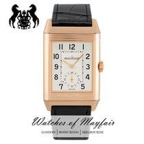 Jaeger-LeCoultre Reverso Classic Small Roségold 47mm Silber