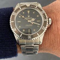 Rolex Submariner (No Date) Acier 40mm Noir Sans chiffres France, Paris