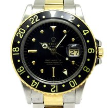 Rolex GMT-Master 1675/3 Good Yellow gold 40mm Automatic