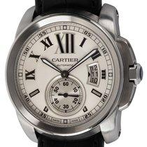 Cartier Calibre de Cartier Steel 42mm Silver Roman numerals United States of America, Texas, Austin