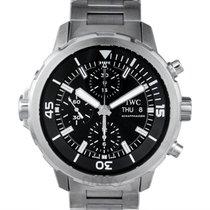 IWC Aquatimer Chronograph Acero 44.00mm Negro