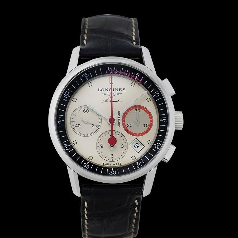 Longines Column-Wheel Chronograph L47544723 2021 new