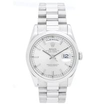 Rolex Day-Date 36 36mm Silver No numerals United States of America, Texas, Dallas
