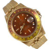 Rolex GMT-Master Yellow gold 40mm Brown No numerals