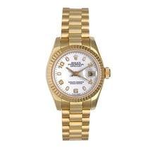 Rolex Lady-Datejust 26mm Белый Aрабские