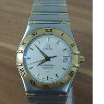 Omega 368.1201 Goud/Staal 1997 Constellation 35mm tweedehands
