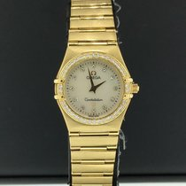 Omega Constellation Ladies Yellow gold 25mm White No numerals United States of America, New York, New York
