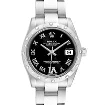 Rolex Lady-Datejust Acero 31mm Negro Romanos
