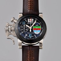 Graham Chronofighter R.A.C. pre-owned 42mm Black
