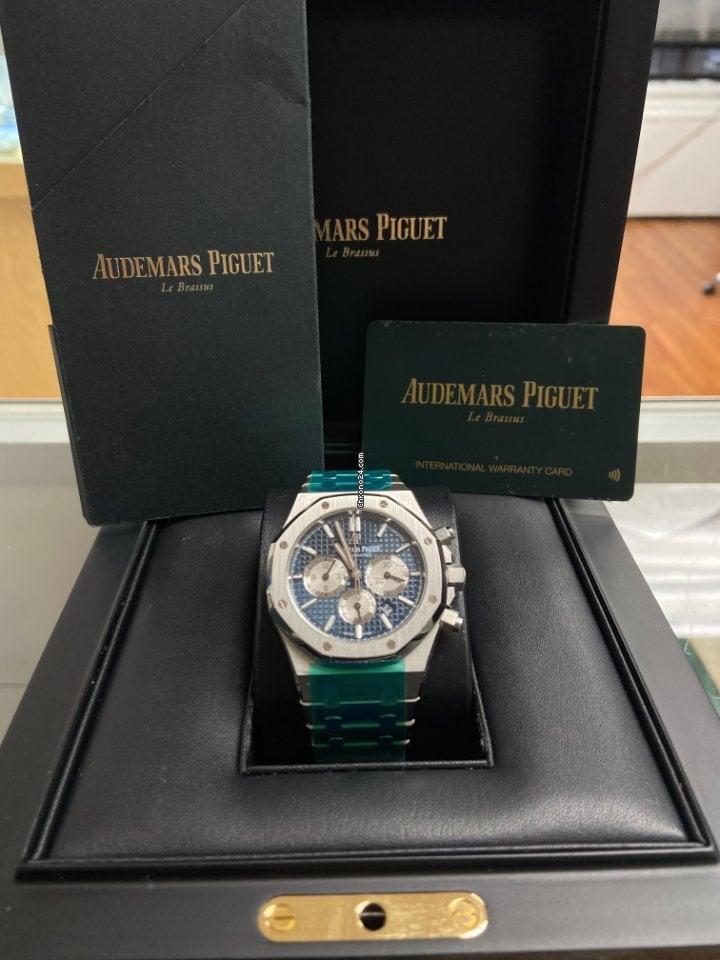 Audemars Piguet Royal Oak Chronograph 26331ST.OO.1220ST.01 2019 pre-owned