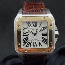 Cartier Gold/Stahl 38mm Automatik W20072X7 gebraucht