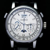 A. Lange & Söhne Platinum 41mm Manual winding 410.025 pre-owned United States of America, California, Irvine