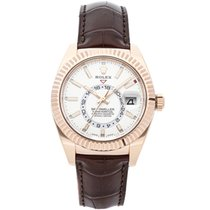 Rolex Sky-Dweller Rose gold 42mm White No numerals United States of America, New York, New York