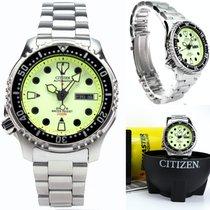 Citizen Promaster Marine Steel 42mm Yellow No numerals