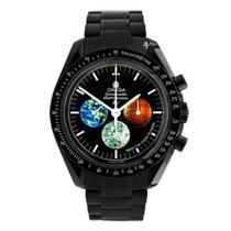 Omega Speedmaster Professional Moonwatch Сталь 42mm Черный