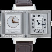 Jaeger-LeCoultre Reverso Duetto pre-owned 21mm Mother of pearl Leather