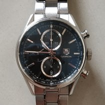 TAG Heuer Carrera Calibre 1887 Steel Black No numerals India, Greater Mumbai