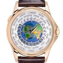 Patek Philippe World Time neu 2010 Automatik Uhr mit Original-Box und Original-Papieren 5131J-001