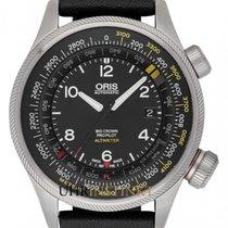 Oris 01 733 7705 4164-07 5 23 19FC Acier 2021 Big Crown ProPilot Altimeter 47mm nouveau