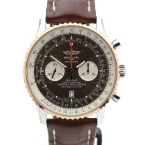 Breitling Navitimer 01 (46 MM) Gold/Steel 46mm Brown