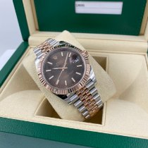 Rolex Datejust II Gold/Steel 41mm Brown No numerals United States of America, Florida, MIAMI