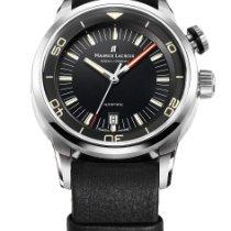 Maurice Lacroix Pontos S Diver Steel 43mm Black Arabic numerals