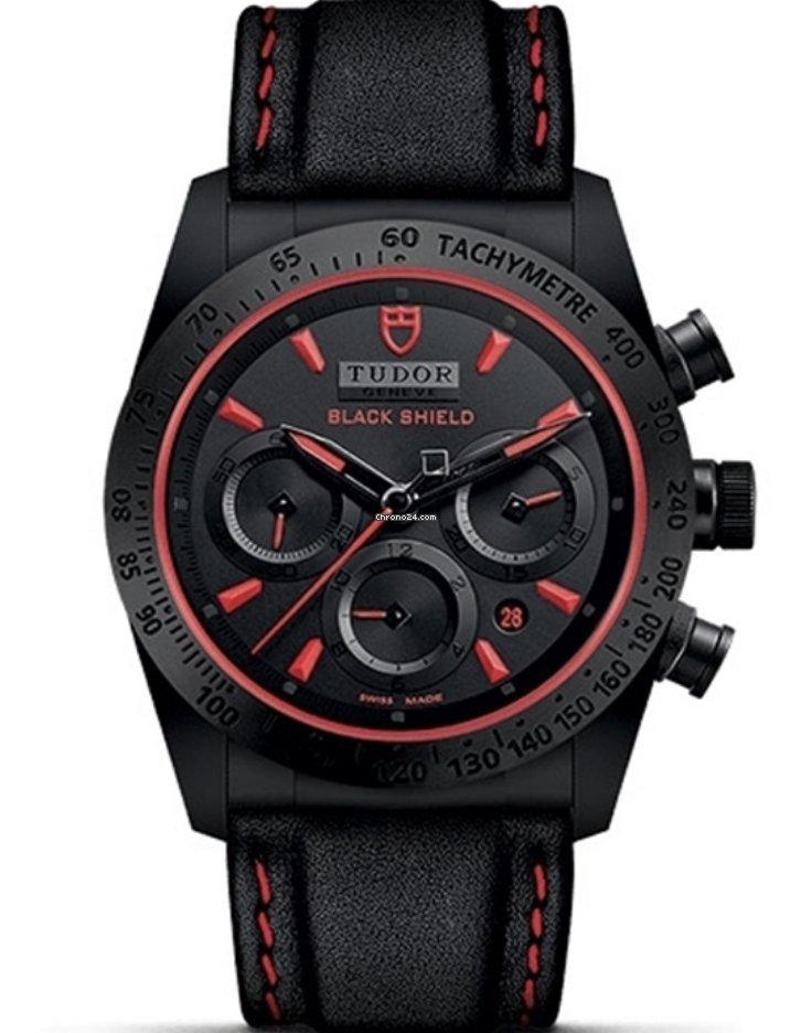 Tudor Fastrider Black Shield M42000CR-0002 new