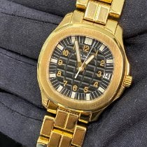 Patek Philippe Yellow gold Automatic pre-owned Aquanaut