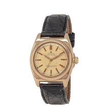 Rolex Bubble Back Rose gold 32mm Champagne United States of America, New York, Hartsdale