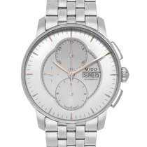 Mido Baroncelli Chronograph Steel 43mm Silver United States of America, New Jersey, Cresskill