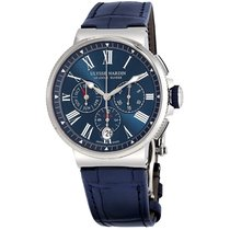 Ulysse Nardin 1533-150/43 Сталь 2019 Marine Chronograph 43mm новые