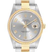 Rolex Oyster Perpetual Date Gold/Steel 34mm Arabic numerals United States of America, Georgia, Atlanta