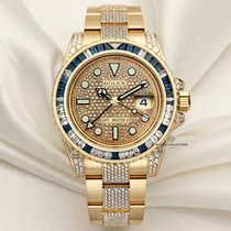 Rolex Yellow gold Automatic 40mm pre-owned GMT-Master II