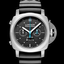 Panerai Luminor 1950 Rattrapante 8 Days nuevo Automático Reloj con estuche y documentos originales PAM00530