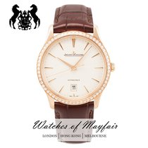 Jaeger-LeCoultre Master Ultra Thin Date Rose gold 39mm Silver United Kingdom, London