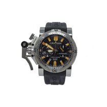 Graham Chronofighter Oversize Acero 47mm Negro
