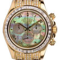 Rolex Daytona Yellow gold 40mm Mother of pearl