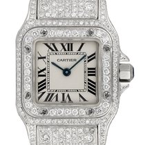 Cartier Santos Galbée new 2019 Quartz Watch only W20017D6