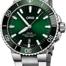Oris Aquis Date Steel 43.5mm Green United States of America, New Jersey, Cherry Hill