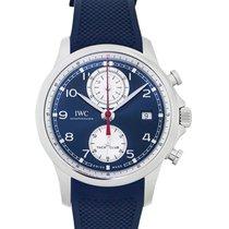 IWC iw390507 Acero Portuguese Yacht Club Chronograph 43.5mm nuevo