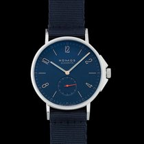 NOMOS Ahoi Atlantik Steel 40.3mm Blue United States of America, California, San Mateo