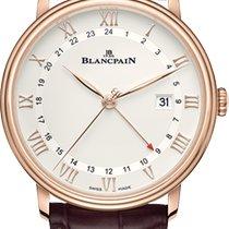 Blancpain Villeret 6662-3642-55B Neu Roségold 40mm Automatik