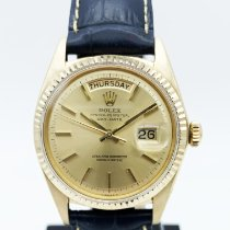 Rolex Day-Date 36 Or jaune 36mm Champagne Sans chiffres France, Paris