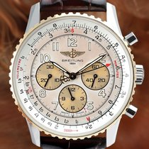 Breitling Navitimer Gold/Steel 38mm Arabic numerals United States of America, New York, New York