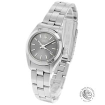 Rolex Oyster Perpetual 26 pre-owned 24mm Silver Steel