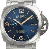 Panerai Luminor Marina Automatic neu 2020 Automatik Uhr mit Original-Box und Original-Papieren PAM01058 / PAM1058