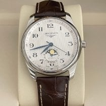 Longines Master Collection Steel 40mm White Arabic numerals United States of America, New York, NY