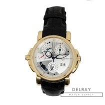 Ulysse Nardin Yellow gold Automatic 42mm pre-owned Sonata