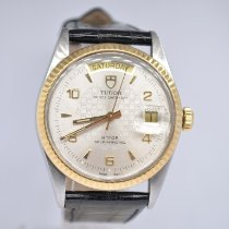 Tudor Prince Date Gold/Steel 36mm White No numerals