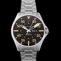 Hamilton H64725131 Acier Khaki Pilot Day Date 46mm nouveau